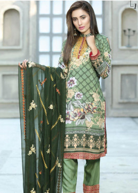 Creaze Embroidered Viscose Unstitched 3 Piece Suit CRE20-VC 19606 - Winter Collection