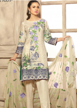 Creaze Embroidered Viscose Unstitched 3 Piece Suit CRE20-VC 19609 - Winter Collection