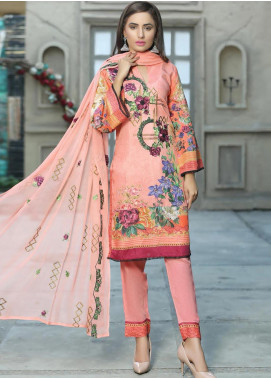 Creaze Embroidered Viscose Unstitched 3 Piece Suit CRE20-VC 19610 - Winter Collection
