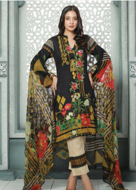 Creaze Embroidered Linen Unstitched 3 Piece Suit CRE19W 19530 - Winter Collection
