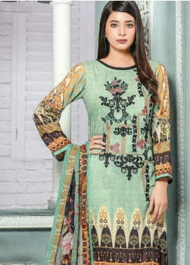 Creaze Embroidered Linen Unstitched 3 Piece Suit CRE19W 19539 - Winter Collection