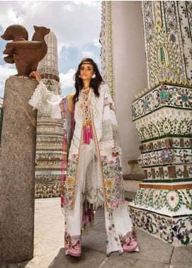 Crimson Embroidered Lawn Unstitched 3 Piece Suit CRM19L 1A - Spring / Summer Collection