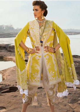 Crimson Embroidered Lawn Unstitched 3 Piece Suit CRM19L 7A - Spring / Summer Collection