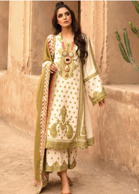 Musafir by Crimson Embroidered Unstitched 3 Piece Suit CR20MF 1-B - Winter Collection