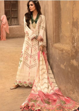 Musafir by Crimson Embroidered Unstitched 3 Piece Suit CR20MF 2-B - Winter Collection