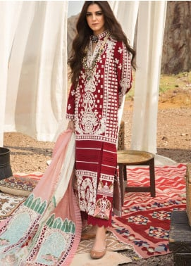 Musafir by Crimson Embroidered Unstitched 3 Piece Suit CR20MF 3-B - Winter Collection