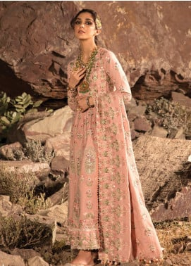 Musafir by Crimson Embroidered Unstitched 3 Piece Suit CR20MF 4-A - Winter Collection