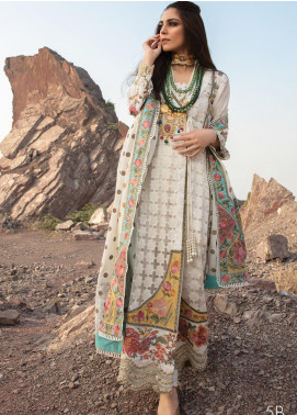 Musafir by Crimson Embroidered Unstitched 3 Piece Suit CR20MF 5-B - Winter Collection