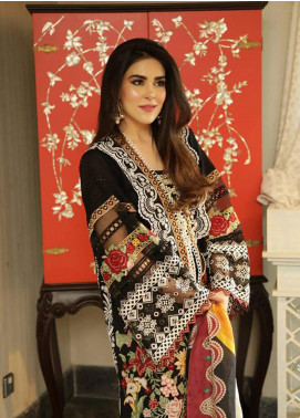 Crimson Embroidered Lawn Unstitched 3 Piece Suit CRM19L 1B - Spring / Summer Collection
