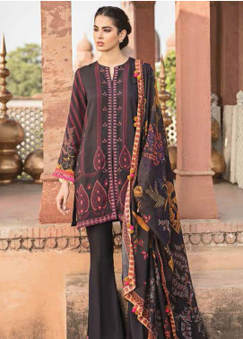 Dastaan by Cross Stitch Embroidered Khaddar Unstitched 3 Piece Suit CS20D 06 CELESTIAL TRIUMPH - Winter Collection