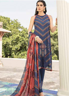 Dastaan by Cross Stitch Embroidered Linen Unstitched 3 Piece Suit CS20D 13 PROLIFIC TALE - Winter Collection