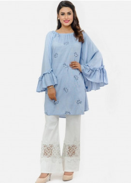 Change Embroidered Crape Stitched Top CH18K CW1751
