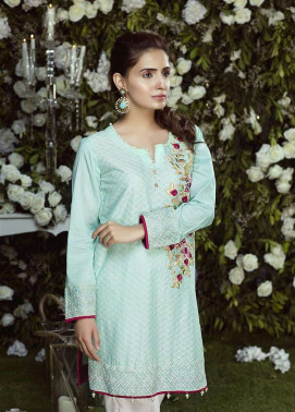 Anahi by Gulaal Embroidered Lawn Stitched Kurtis GLP17K 12A
