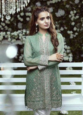 Anahi by Gulaal Embroidered Chiffon Stitched Kurtis GLP17K 8A
