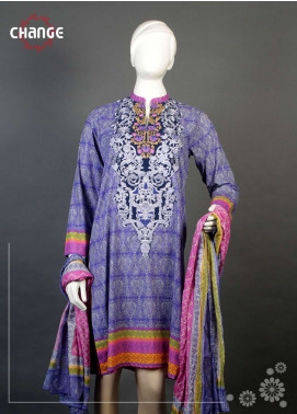 Change Embroidered  Stitched 2 Piece Suit CH18K D20