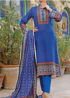 VS Textiles Printed Lawn Unstitched 3 Piece Suit VS20D 14-A - Summer Collection