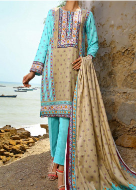Daman by VS Textiles Printed Cambric Unstitched 3 Piece Suit VS20DC 1205 (A) - Winter Collection