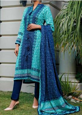Daman by VS Textiles Printed Lawn Unstitched 3 Piece Suit VS20L 04B - Summer Collection