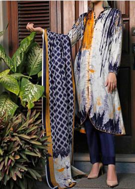 Daman by VS Textiles Printed Lawn Unstitched 3 Piece Suit VS20L 05A - Summer Collection