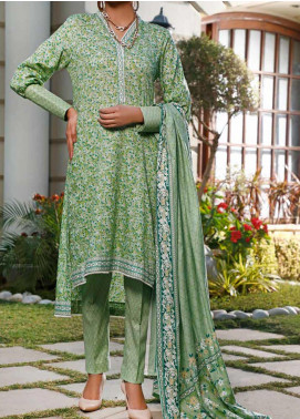 Daman by VS Textiles Printed Lawn Unstitched 3 Piece Suit VS20L 06A - Summer Collection