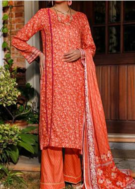 Daman by VS Textiles Printed Lawn Unstitched 3 Piece Suit VS20L 06B - Summer Collection