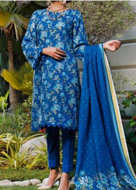 Daman by VS Textiles Printed Lawn Unstitched 3 Piece Suit VS20L 07B - Summer Collection