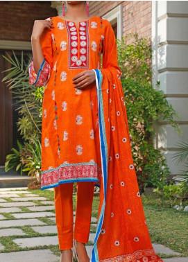 Daman by VS Textiles Printed Lawn Unstitched 3 Piece Suit VS20L 10A - Summer Collection