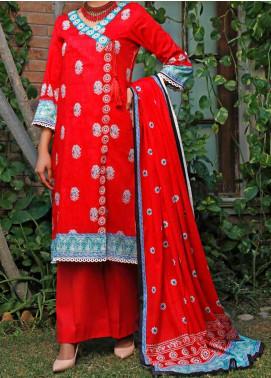 Daman by VS Textiles Printed Lawn Unstitched 3 Piece Suit VS20L 10B - Summer Collection