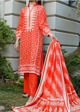 Daman by VS Textiles Printed Lawn Unstitched 3 Piece Suit VS20L 11A - Summer Collection