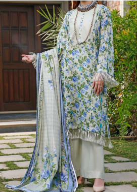 Daman by VS Textiles Printed Lawn Unstitched 3 Piece Suit VS20L 12A - Summer Collection