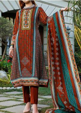 Daman by VS Textiles Printed Lawn Unstitched 3 Piece Suit VS20L 16A - Summer Collection
