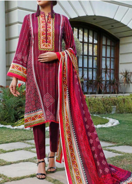 Daman by VS Textiles Printed Lawn Unstitched 3 Piece Suit VS20L 16B - Summer Collection