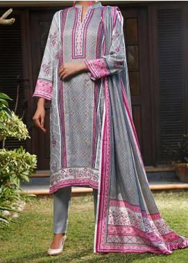 Daman by VS Textiles Printed Lawn Unstitched 3 Piece Suit VS20L 18A - Summer Collection