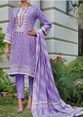 Daman by VS Textiles Printed Lawn Unstitched 3 Piece Suit VS20L 11B - Summer Collection