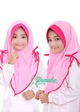 Danisha | Style of Hijab  Bubble Pop  Girls Scarves HH Danisha 01 Baby Pink