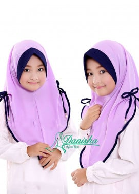 Danisha | Style of Hijab  Bubble Pop  Girls Scarves HH Danisha 03 Purple
