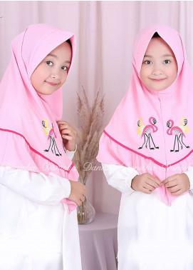 Danisha | Style of Hijab  Bubble Pop  Girls Scarves HH Danisha Flamingo 04 Pink