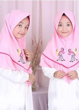 Danisha | Style of Hijab  Bubble Pop  Girls Scarves HH Danisha Flamingo 04 Pink