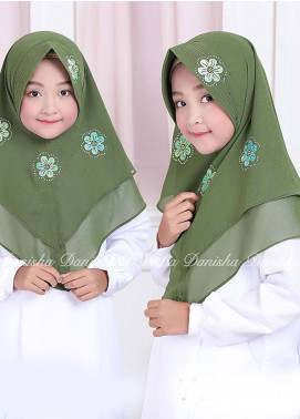 Danisha | Style of Hijab  Bubble Pop  Girls Scarves HH Danisha Yuzma 02 Green