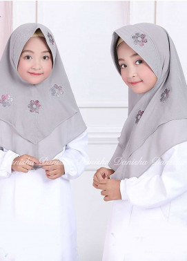 Danisha | Style of Hijab  Bubble Pop  Girls Scarves HH Danisha Yuzma 03 Grey