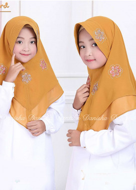 Danisha | Style of Hijab  Bubble Pop  Girls Scarves HH Danisha Yuzma 05 Mustard