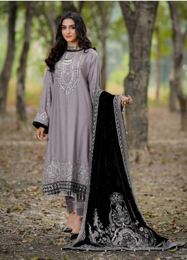 Dans Le Imperial by Anamta Embroidered Linen Unstitched 3 Piece Suit ANT20-DI2 01 - Winter Collection