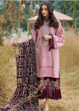 Dans Le Imperial by Anamta Embroidered Linen Unstitched 3 Piece Suit ANT20-DI2 02 - Winter Collection