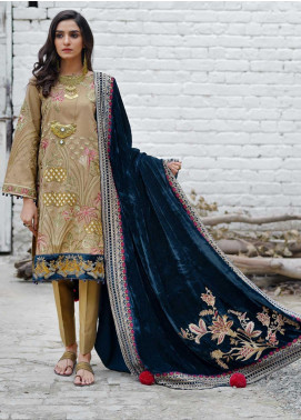 Dans Le Imperial by Anamta Embroidered Missouri Unstitched 3 Piece Suit ANT20-DI2 03 - Winter Collection
