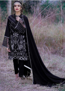 Dans Le Imperial by Anamta Embroidered Linen Unstitched 3 Piece Suit ANT20-DI2 04 - Winter Collection