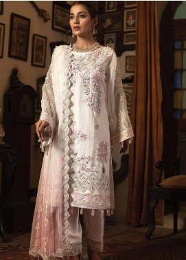 Dareechay by Lush Embroidered Organza Unstitched 3 Piece Suit LSH20D 006 - Luxury Collection