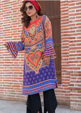 Fateh Printed Cotton Unstitched Kurties Cotton FS-0113 - Mid Summer Collection