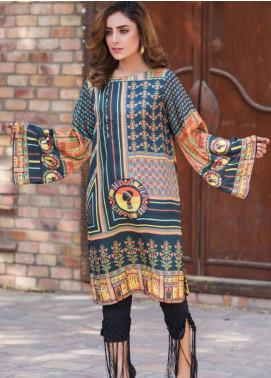 Fateh Printed Silk Unstitched Kurties Silk FS-01090 - Mid Summer Collection