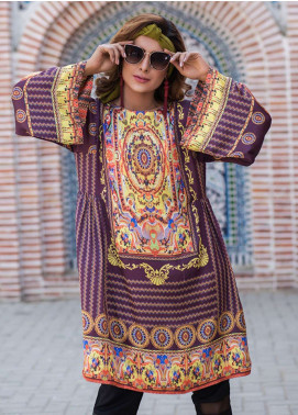 Fateh Printed Silk Unstitched Kurties Silk FS-01120 - Mid Summer Collection