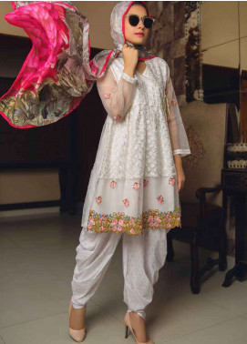 Deeba Embroidered Lawn Unstitched 3 Piece Suit DB19L 05 - Spring / Summer Collection